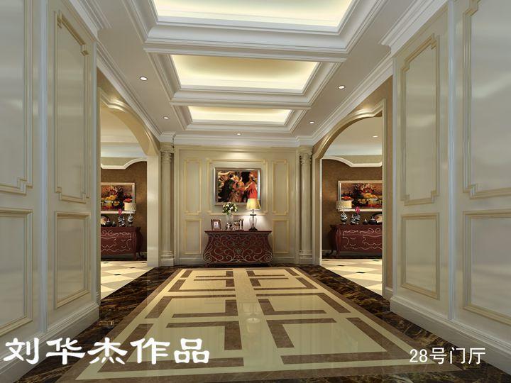 湖玺庄园独栋别墅欧式古典风格无锡润邦装饰