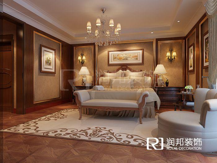 阿维侬庄园280平方古典欧式风格无锡润邦装饰