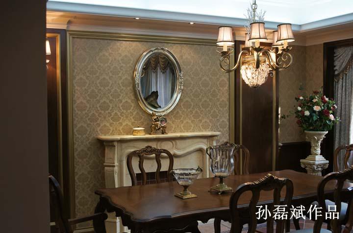 装修风格:简欧风格 材料说明:墙纸,实木护墙板,实木线条,仿古砖,各类图片