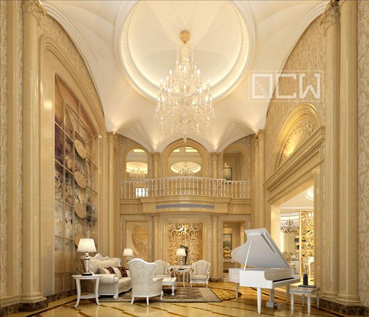 威尼斯花园850平方独栋别墅欧式风格图片