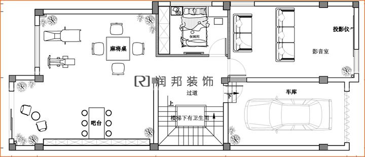 户型特点:联排别墅 装修风格:欧式