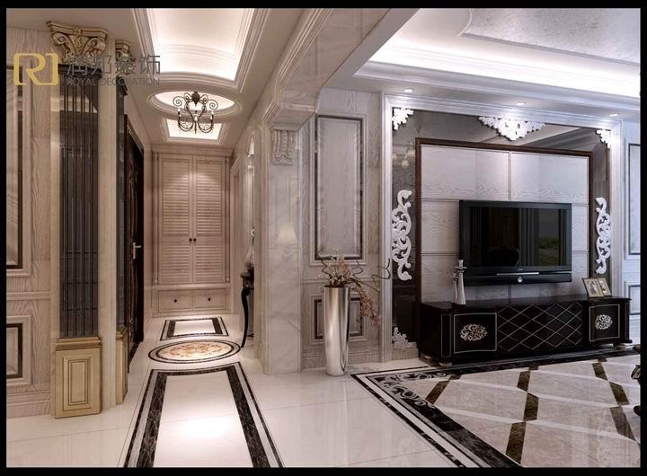 保利香槟国际|170平|简欧风格|无锡润邦装饰