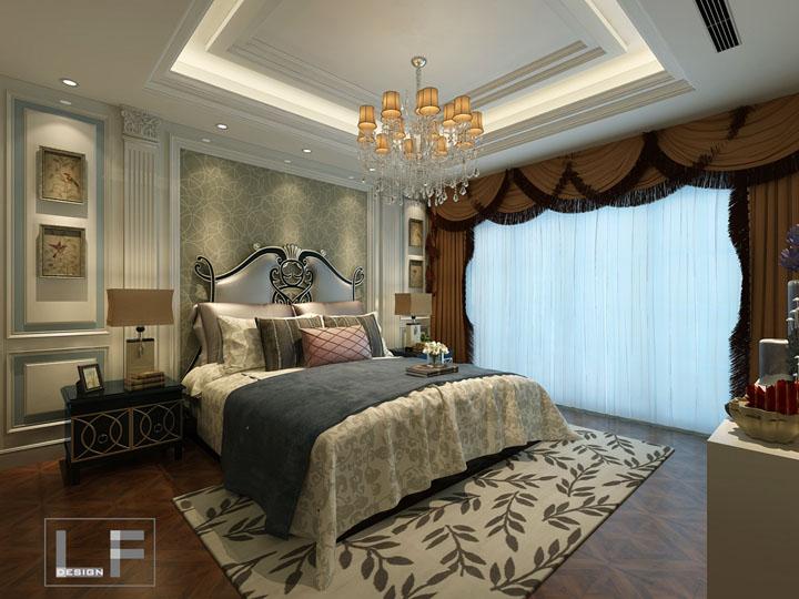 无锡优博园190平方复式楼简欧风格设计案例 无锡润邦装饰