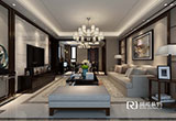 山水湖滨186平米新中式风格无锡装修公司润邦装饰设计师作品