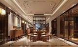 九龙仓玺园400平方联排别墅新中式风格 润邦装饰设计作品