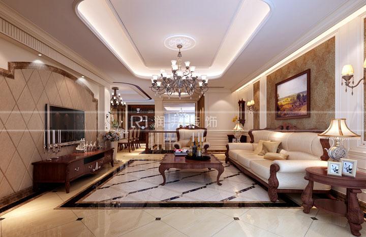 金科米兰270平方新古典式风格无锡润邦装饰
