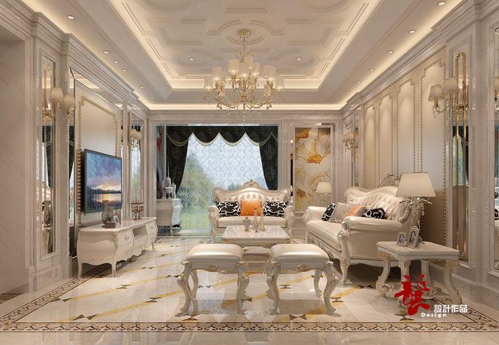 水岸新都550平方独栋别墅新古典风格