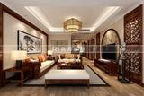 无锡金科世界城140平方现代中式风格作品