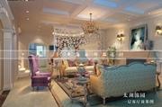 无锡太湖锦园联排别墅欧式风格作品 无锡润邦装饰