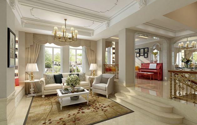 嘉利华府庄园七区286平方双拼别墅设计案例