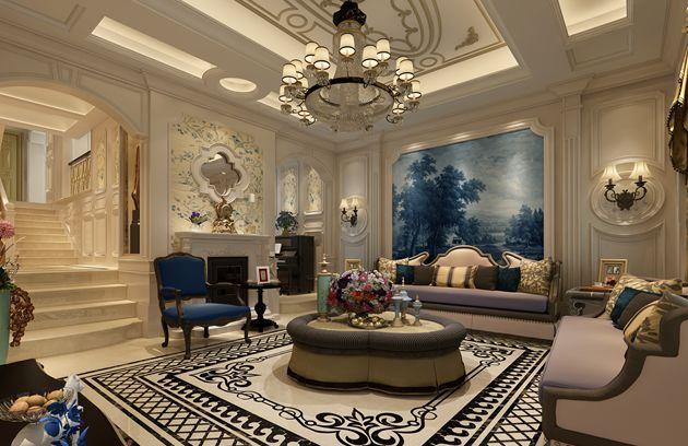 太湖国际联排别墅法式风格