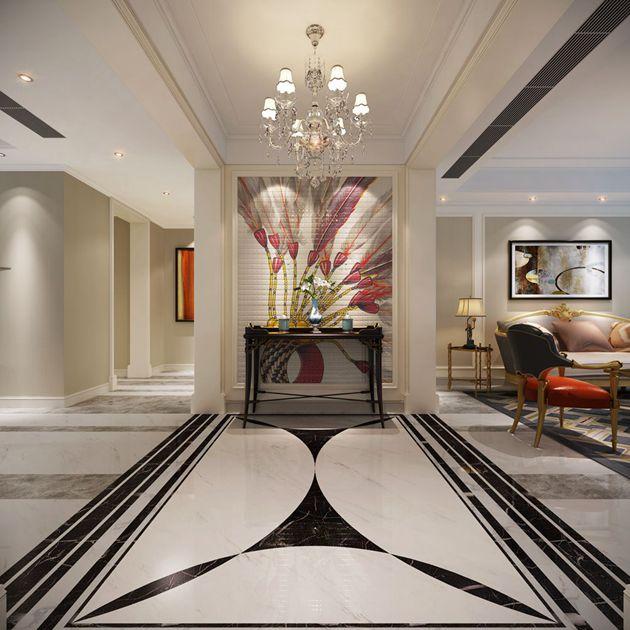 西水东173平方现代时尚风格设计案例