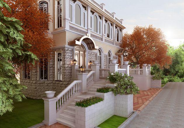 华府庄园700平米新古典风格无锡润邦装饰