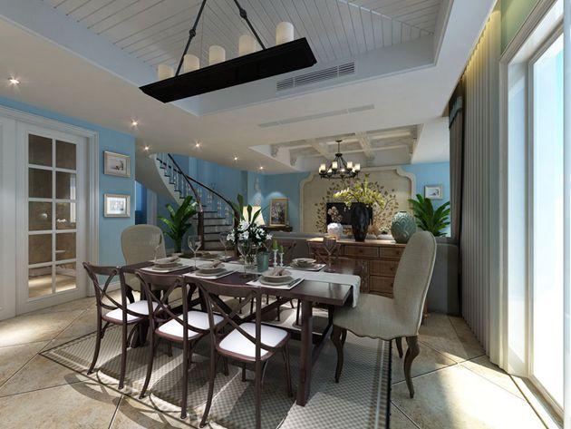 无锡亚美利加顶楼300平方美式风格作品