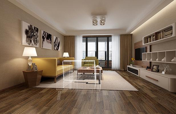 太湖国际|160平米|现代简约风格|润邦装饰无锡公司|