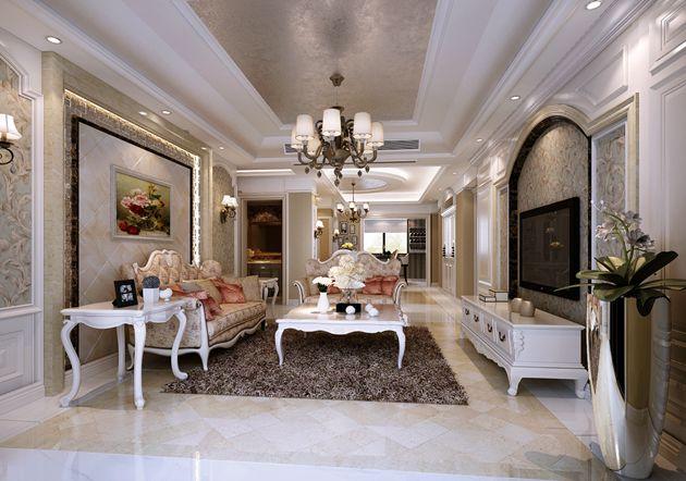 保利香槟国际146平方简欧风格无锡润邦装饰