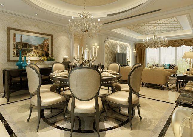 金科米兰米兰三室两厅两卫-简欧风格