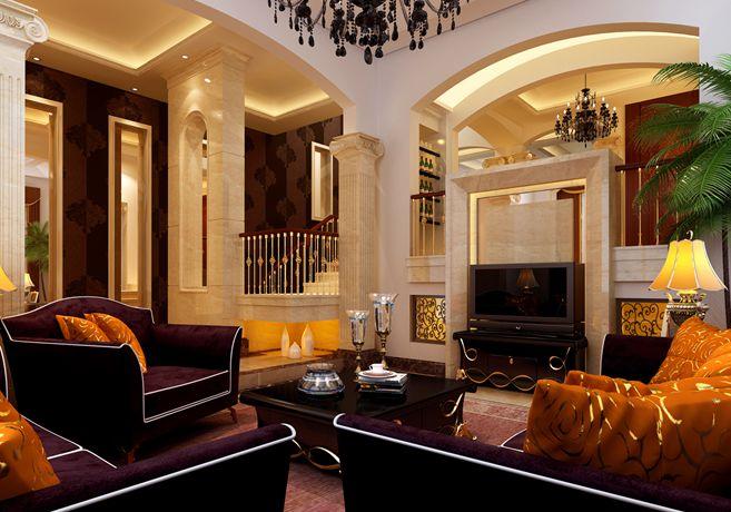 金色水岸365平方米别墅简欧风格