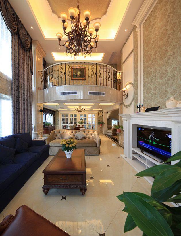 西水东330平美式乡村风格完工实景无锡润邦装饰