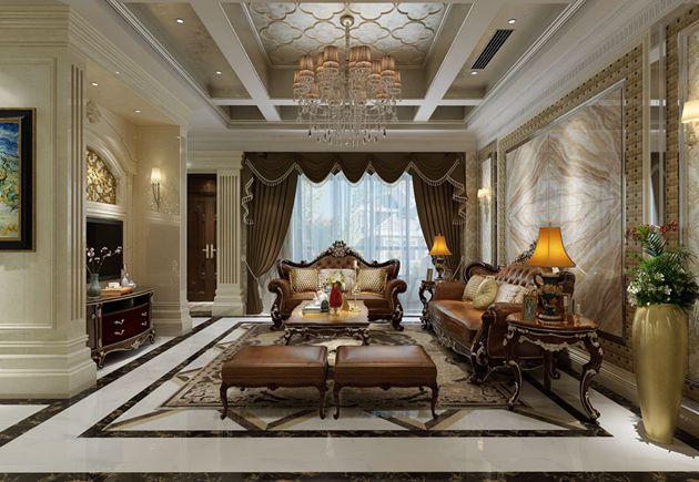 御景华庭别墅-455平方-欧式新古典风格