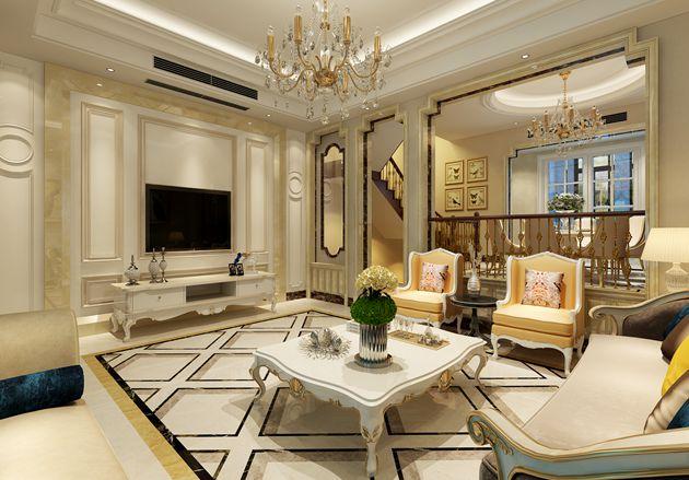 嘉利华府庄园五区245平方简欧风格设计