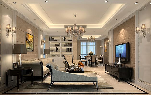 金科世界城142平方米新古典式风格案例