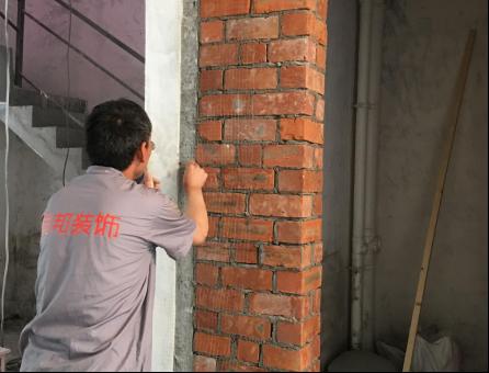 新老墙体接缝防开裂工艺