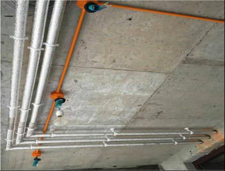 PPR给水管保温工艺、PVC下水管隔音降噪工艺